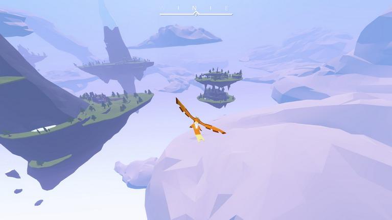 Πτήση πάνω από τις νησίδες της Land of Gods.