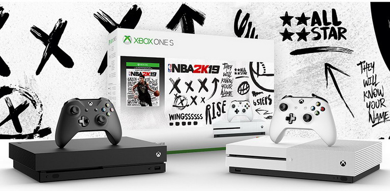 xbox one nba 2k19 bundle