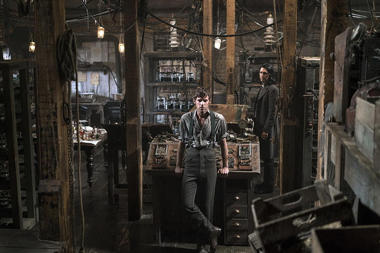 Το ταπεινό εργαστήριο του Dr. Victor Frankenstein.