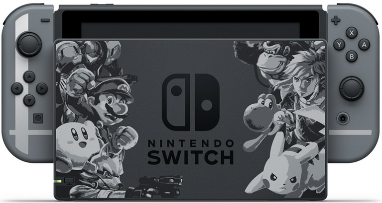 switch super smash bros ultimate bundle