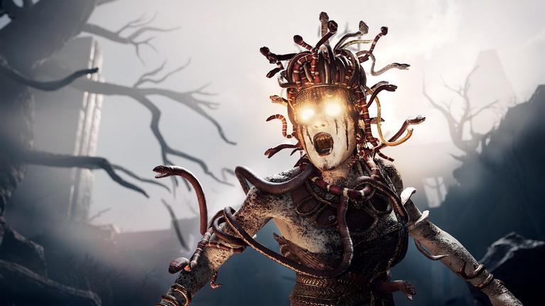 Η Μέδουσα είναι ένα από τα μυθολογικά πλάσματα του παιχνιδιού.