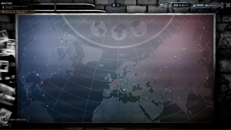 Ο επιχειρησιακός χάρτης.