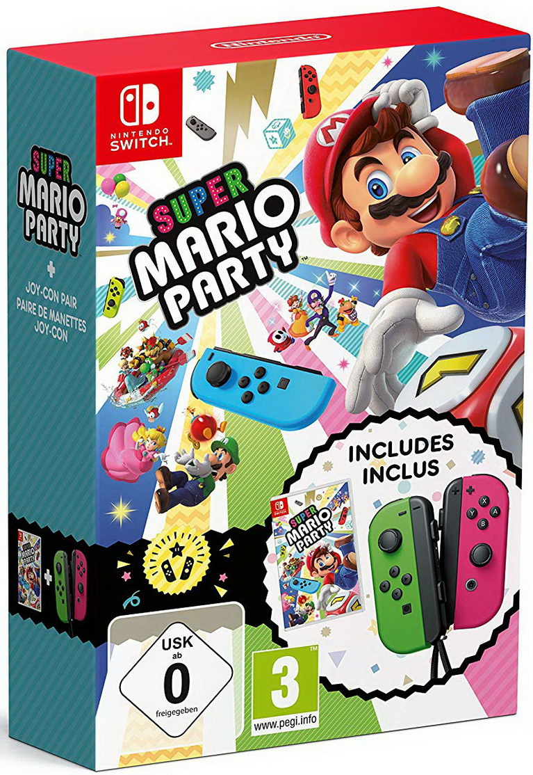 super mario party joy con bundle