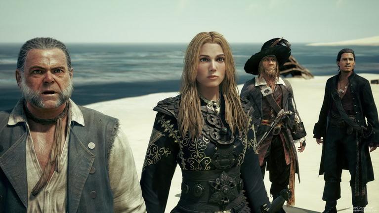 H Unreal Engine 4 κάνει εκπληκτική δουλειά, τόσο με τους υπερστιλιζαρισμένους χαρακτήρες, όσο και με τους ρεαλιστικούς χαρακτήρες των Πειρατών.