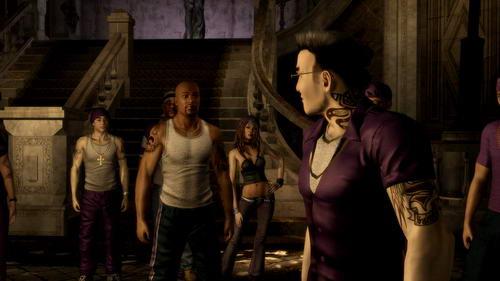 Ο Gat είναι ένας από τους χαρακτήρες του Saints Row, που επιστρέφουν για τις ανάγκες του sequel