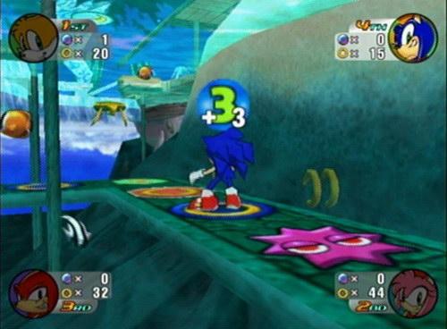 Sonic Shuffle: Mario party Look-alike? Dreamcast haz it!