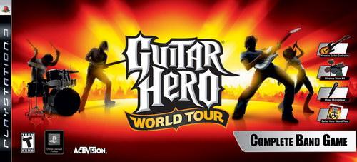 Guitar Hero: World Tour κομπλέ: αν το θέλετε, θα σας κοστίσει λίγο λιγότερο από μία καινούργια κονσόλα...