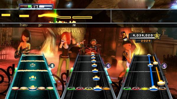 Δύο νέα features: Band Star Power (φωτιές) και Αvatars... Χαριτωμένο...