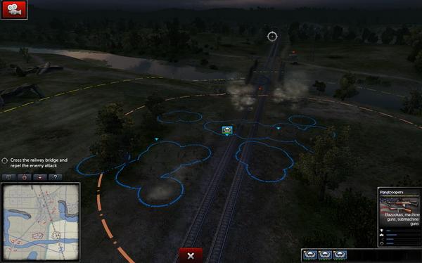 Ιδού το βεληνεκές των short range και long range όπλων, όπως επίσης και το UI του παιχνιδιού.