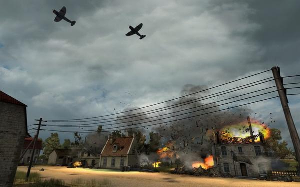 Μα γίνεται παιχνίδι 2ου Παγκοσμίου χωρίς... death from above; Δε γίνεται!