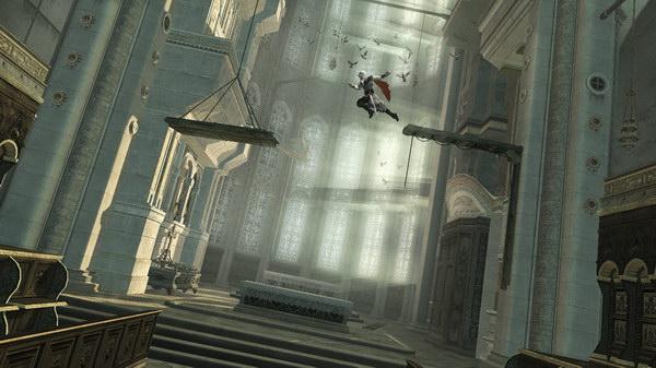 Απολαυστικό platforming στους Assassin Tombs.