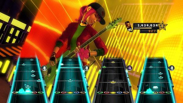 Και εδώ επιτρέπεται το multiplayer με τέσσερα ίδια όργανα. Κάτι που να ΜΗΝ είδαμε στο Guitar Hero 5 παρακαλώ;