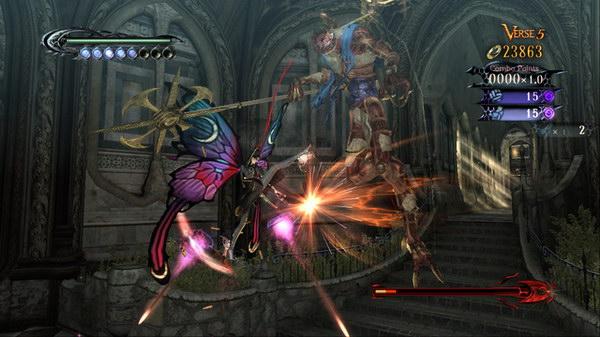 Μαζί με τα φτερά της πεταλούδας, το παιγνίδι βρίθει απο φετίχ. Εξάλλου Bayonette σημαίνει πεταλούδα.