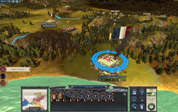 Παρά την έμφαση στον Ναπολέοντα, ο γαλλικός στρατός δεν είναι το μόνο faction που μπορείτε να επιλέξετε στο παιχνίδι.