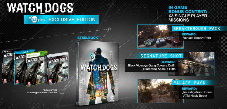 watch dogs uplay edition