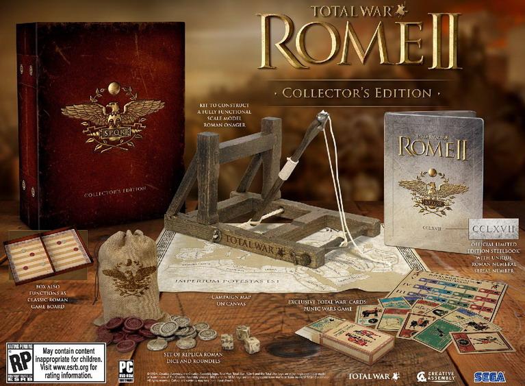 rome 2 collectors edition