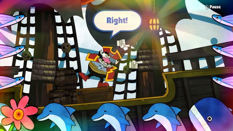 Ότι και να πεις Captain Wario, το Pirates mini-game δεν σώζεται.