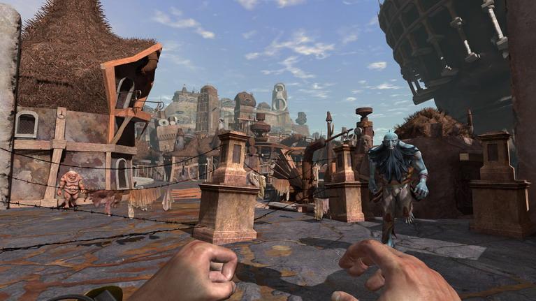 Ένα δείγμα από τον υπέροχο κόσμο και τους παράξενους χαρακτήρες του παιχνιδιού.