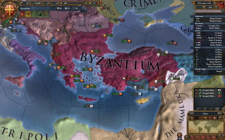 Σε ποιο άλλο παιχνίδι μπορείτε να πάρετε το Βυζάντιο από το 1444 και να αλλάξετε τον ρου της ιστορίας;