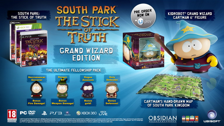 south park sot collectors edition