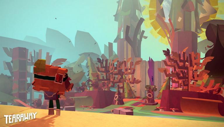 Ο κόσμος του παιχνιδιού είναι εξ ολοκλήρου φτιαγμένος από χαρτί.