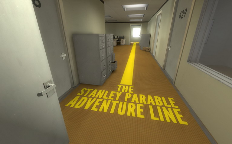 Αν ακολουθήσεις αυτή την γραμμή, θα φτάσεις στο τέλος. Όλα είναι τέλος.