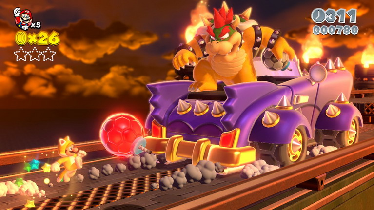 Bowser is ridin' dirty.
