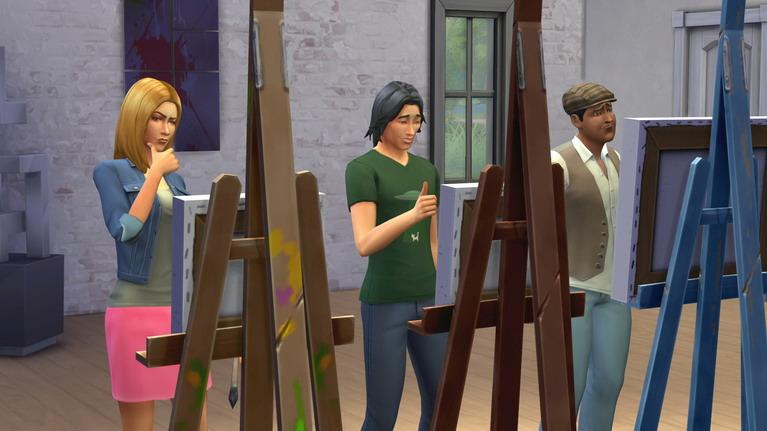 Η μικρή Μιρέλα το ήξερε ότι τα μαθήματα ζωγραφικής δεν θα απέδιδαν...
