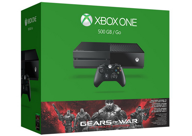 xbox one gears ultimate edition bundle