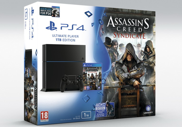 ps4 assassins creed syndicate bundle