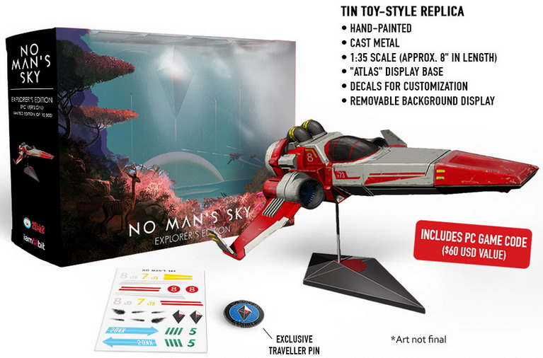 no mans sky pc explorers edition