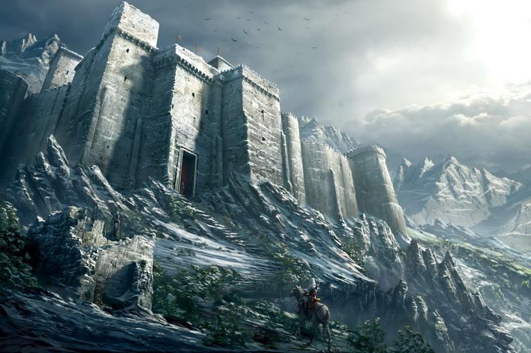 Το κάστρο Μasyaf στη Συρία.