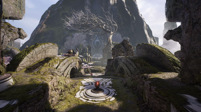 O μοναδικός χάρτης του παιχνιδιού έχει πολλά σημεία που προσφέρουν στρατηγικά πλεονεκτήματα.