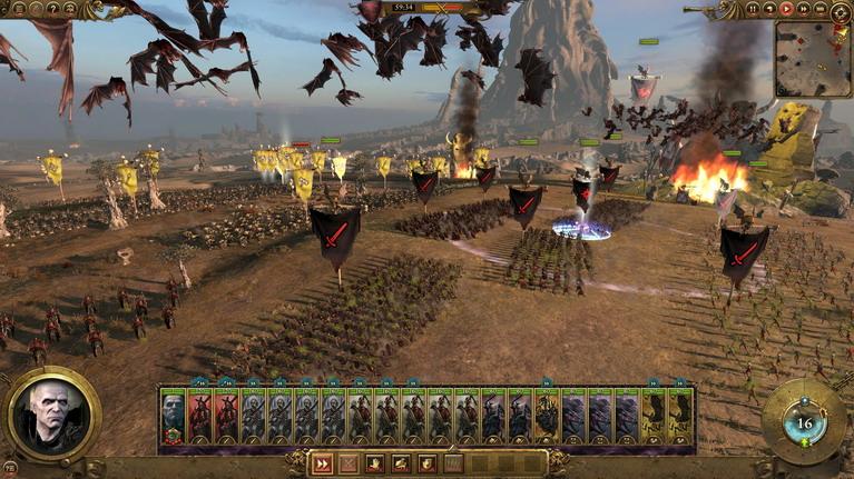 Στο Total War: Warhammer, τον ήλιο τον κρύβουν όχι τα βέλη, αλλά τα ιπτάμενα πλάσματα.