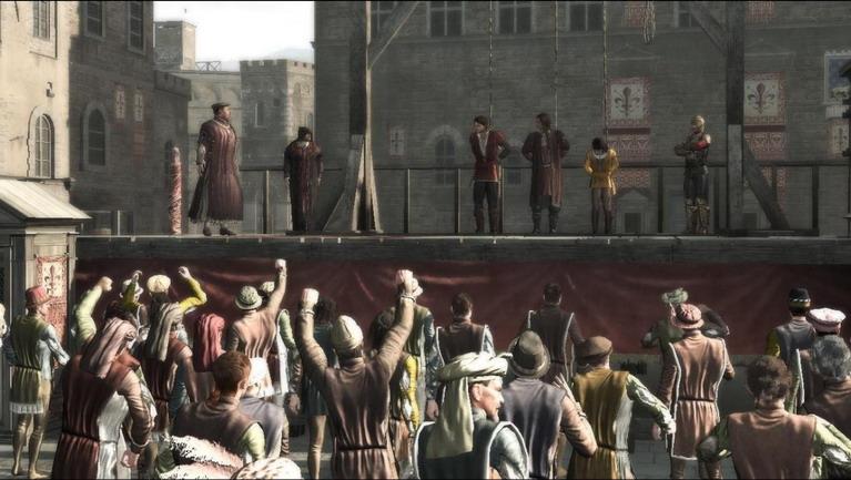 Η στιγμή της εκτέλεσης.