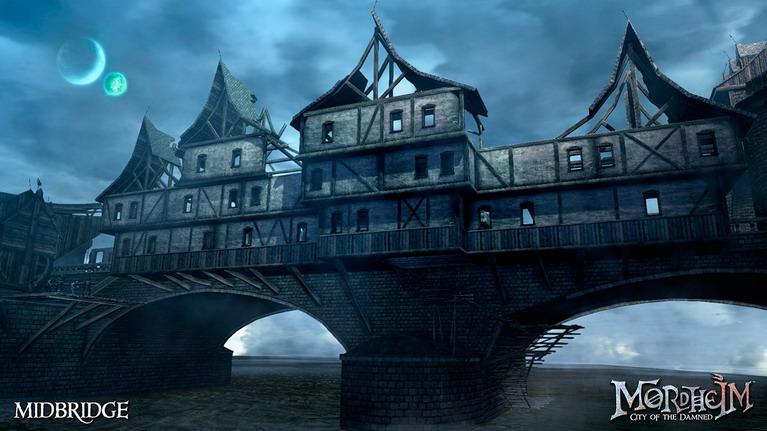 Ότι απέμεινε από την ομορφιά της κάποτε επιβλητικής πόλης Mordheim.