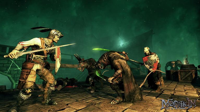 Human Mercenaries εναντίον Skaven.