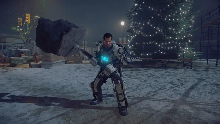 Μέχρι και ρομποτική στολή βρίσκει ο Frank.