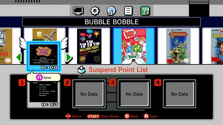 Βρε μανία να βάζουν φτερά στα πάντα εκεί στη Nintendo (ναι, αυτές είναι οι επιλογές για save).