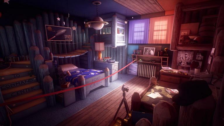 Σφραγισμένο παιδικό δωμάτιο.