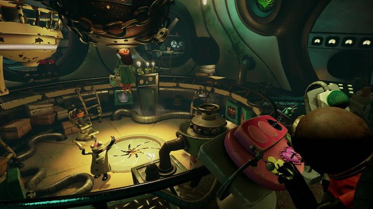 Ο κόσμος του παιχνιδιού είναι πολύχρωμα υπέροχος.