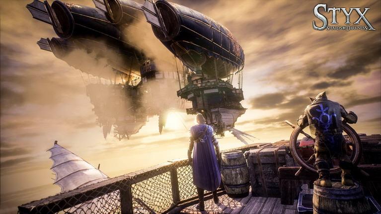 Το εντυπωσιακό αερόπλοιο της Helledryn.