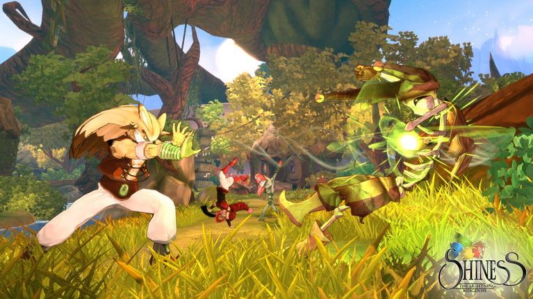 Το σύστημα μάχης έχει ξεκάθαρες επιρροές από παιχνίδια ξύλου.