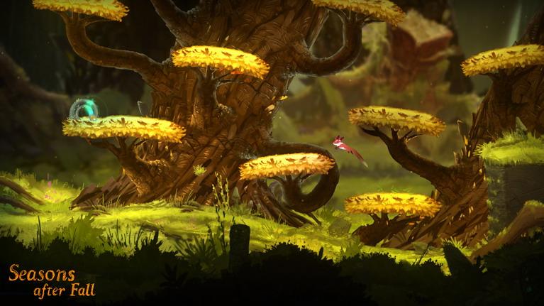 Τα άλματα είναι από τους βασικούς μηχανισμούς του gameplay.
