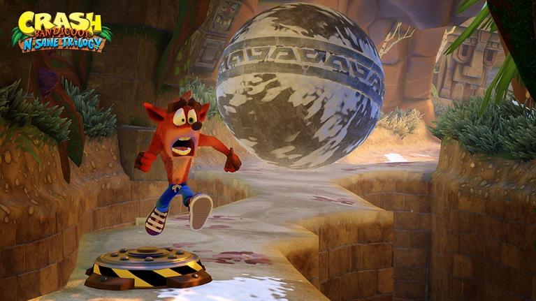 Ήταν που ήταν ο Crash από τους πιο εκφραστικούς χαρακτήρες, εδώ η τρελόφατσά του είναι απλά ανεκτίμητη.