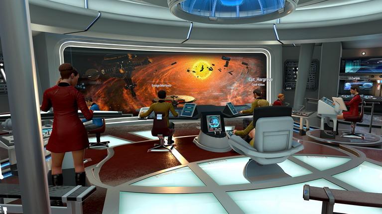 Το μεγάλο παράθυρο που προσφέρει θέα στο διάστημα, συμβάλλει πολύ στο immersion.