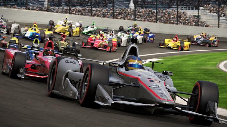 Το Indycar είναι ένα από τα επίσημα πρωταθλήματα του παιχνιδιού.