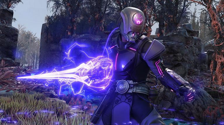 Η ψιονική ενέργεια του Saito θυμίζει κάτι από Halo.