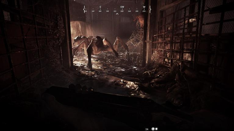 Η γιγάντια αράχνη, το δεύτερο τέρας του παιχνιδιού.