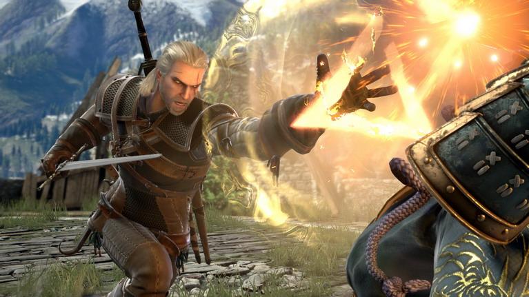 Αυτή τη φορά guest χαρακτήρας είναι ο Geralt από το The Witcher.